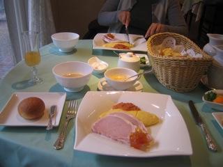 心に残る朝食